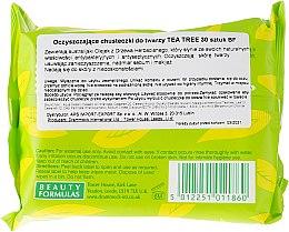 Čistiace obrúsky na tvár - Beauty Formulas Tea Tree Cleansing Wipes — Obrázky N2