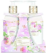 Voňavky, Parfémy, kozmetika Sada - Baylis & Harding Royal Bouquet Rose & Honeysuckle (b/lot/300ml + soap/300ml)