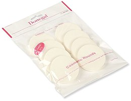 Voňavky, Parfémy, kozmetika Hubka na make-up, biely, 8 ks. 4302 - Donegal Sponge Make-Up