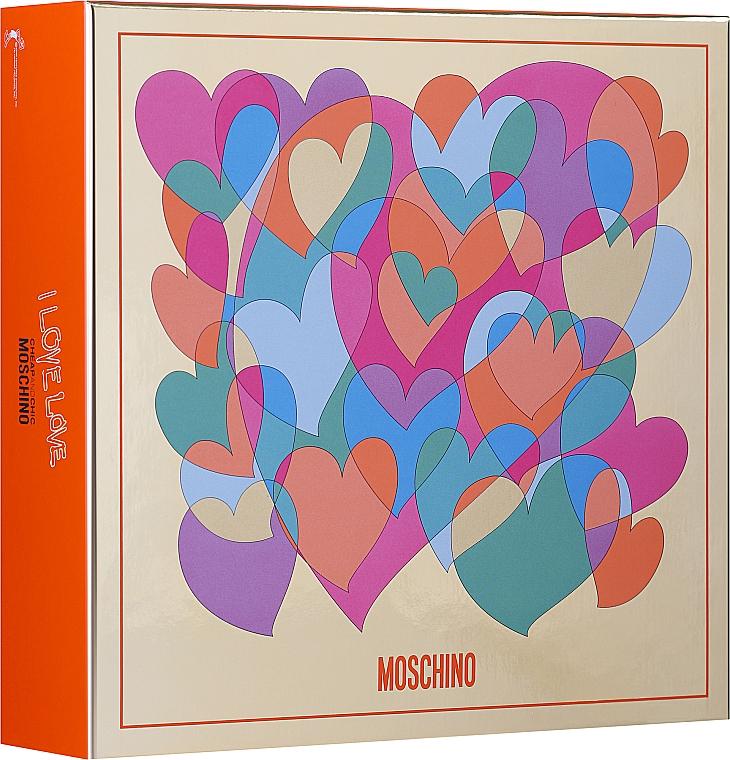 Moschino I Love Love - Sada (edt/30ml + b/lot 50ml)