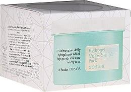 Voňavky, Parfémy, kozmetika Náplasti na tvár - Cosrx Hydrogel Very Simple Pack