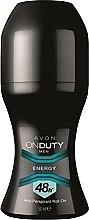 Voňavky, Parfémy, kozmetika Antiperspirantový dezodorant - Avon On Duty Men Energy Antiperspirant Roll-On