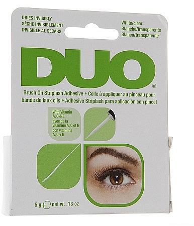 Lepidlo na falošné riasy s vitamínmi - Duo Brush-On Lash Adhesive