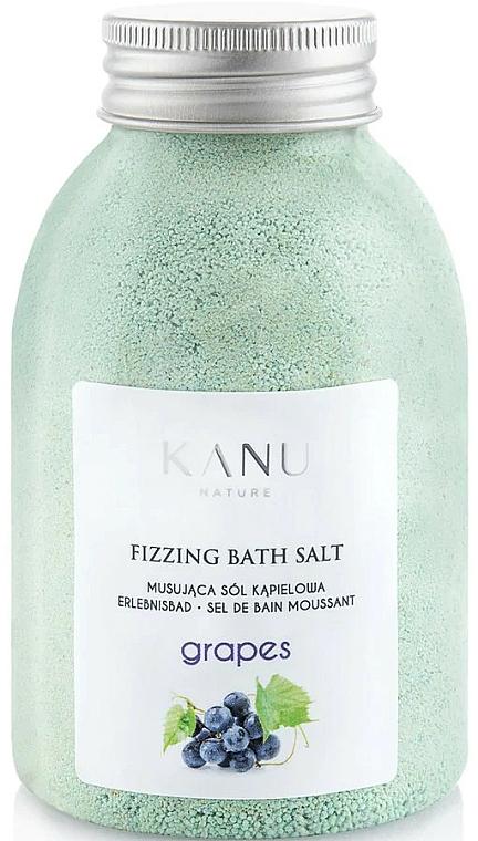 """Šumivá soľ do kúpeľa """"Hrozno"""" - Kanu Nature Grapes Fizzing Bath Salt"""