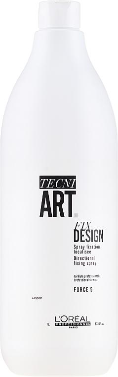 Lak na vlasy - L'oreal Professionnel Tecni.art Fix Design — Obrázky N2
