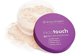 Voňavky, Parfémy, kozmetika Púder na tvár sypký - Boys'n Berries Loose Powder Micro Touch