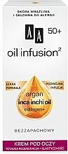 Voňavky, Parfémy, kozmetika Regeneračný očný krém - AA Oil Infusion Eye Cream 50+
