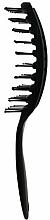 Kefa na rýchle vysušenie vlasov, čierna - Rolling Hills Hairbrushes Quick Dry Brush Black — Obrázky N2