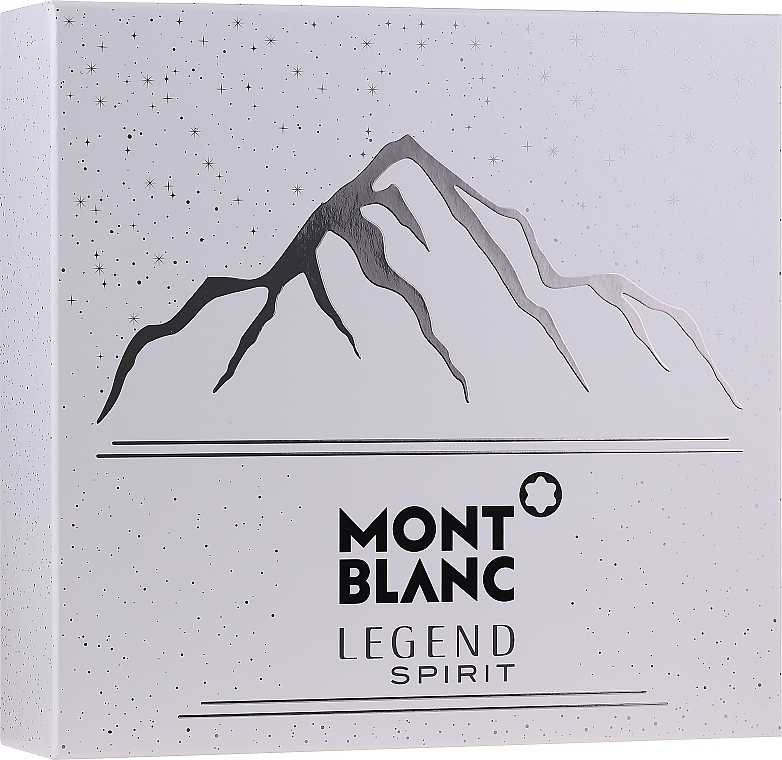 Montblanc Legend Spirit - Sada (edt/100ml + ash/balm/100ml + sh/gel/100ml)