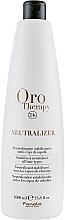 Voňavky, Parfémy, kozmetika Neutralizátor a stabilizátor pre bio trvalú onduláciu - Fanola Oro Therapy Neutralizer