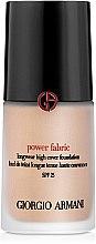 Voňavky, Parfémy, kozmetika Tonálny základ - Giorgio Armani Power Fabric Foundation