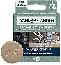 Voňavky, Parfémy, kozmetika Vôňa do auta (vymeniteľný blok) - Yankee Candle Car Powered Fragrance Refill Seaside Woods