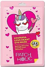 Voňavky, Parfémy, kozmetika Náplasti na oči - Patch Holic Costopia Love Heart Eye Mask