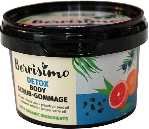Scrub-gomáž na telo - Berrisimo Detox Body Scrub-Gommage