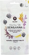 Voňavky, Parfémy, kozmetika Tablety na sprchovanie Velvet - Ben&Anna Natural Velvet Body Wash Tablets