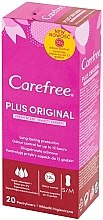 Voňavky, Parfémy, kozmetika Hygienické denné vložky, 20ks - Carefree Plus Original Fresh Scent