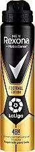Voňavky, Parfémy, kozmetika Antiperspirantový dezodorant pre mužov - Rexona Men MotionSense La Liga Football Edition Antiperspirant