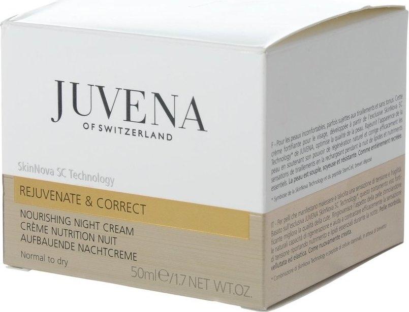 Vyživný nočný krém pre normálnu a suchú pleť - Juvena Rejuvenate Nourishing Night Cream Normal To Dry Skin — Obrázky N2