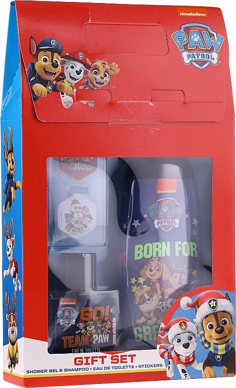 Sada - Uroda For Kids Paw Patrol Red (sh/gel/250ml + edt/50ml + stickers)