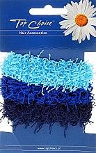 Voňavky, Parfémy, kozmetika Gumičky do vlasov 3 ks, modrý - Top Choice