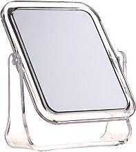 Voňavky, Parfémy, kozmetika Kozmetické zrkadlo štvorcové, 5282, biele - Top Choice