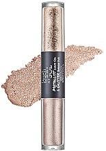 Voňavky, Parfémy, kozmetika Očné tiene - Touch in Sol Metallist Liquid Foil & Glitter Eye Shadow Duo