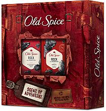 Voňavky, Parfémy, kozmetika Sada - Old Spice Rock Adventurer (deo/50g + sh/gel/250ml)
