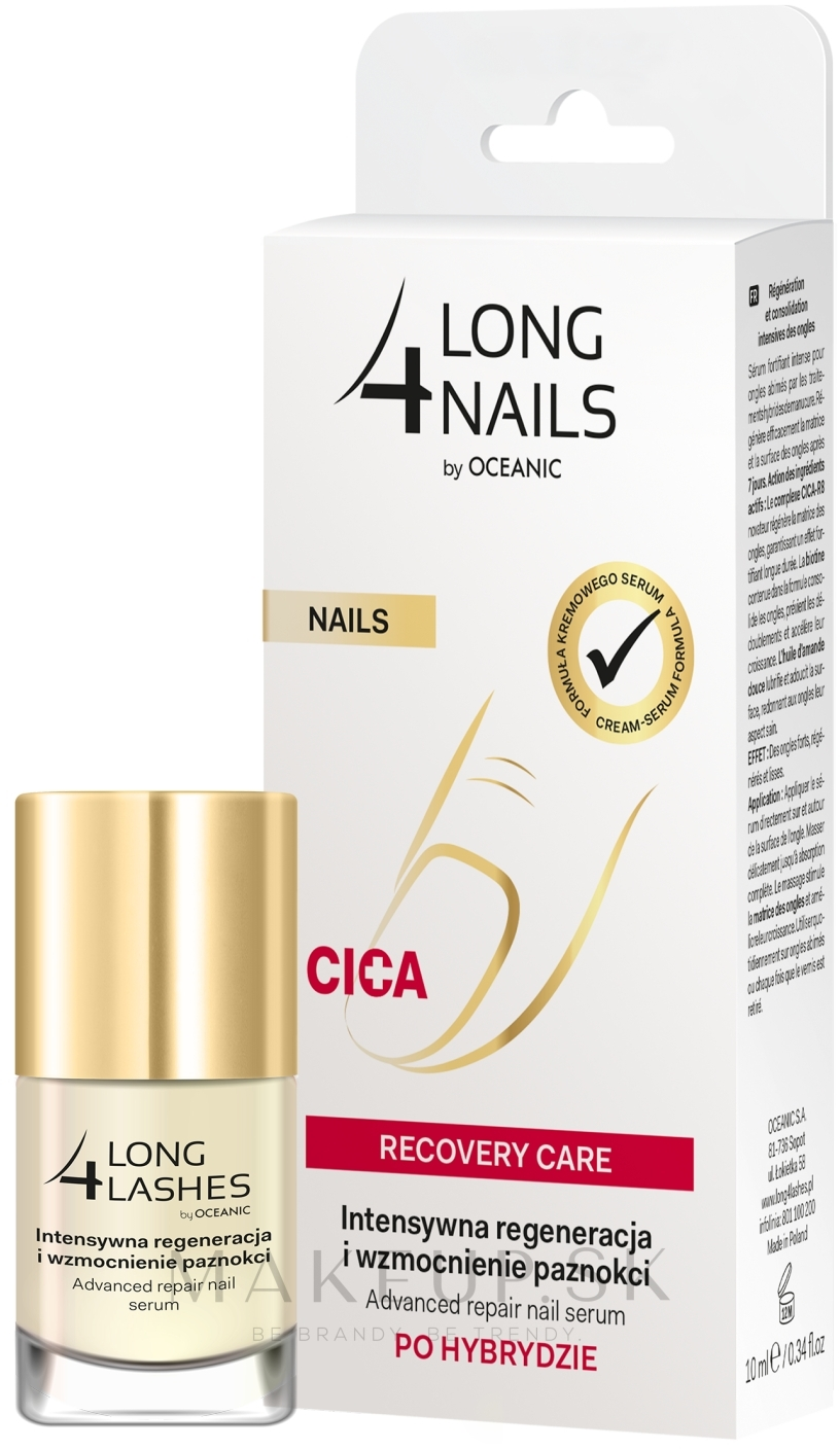 Sérum na nechty - Long4Lashes Nails Cica Recovery Care — Obrázky 10 ml