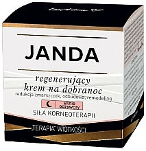 Voňavky, Parfémy, kozmetika Regeneračný nočný krém na tvár - Janda Strong Regeneration Good Night Cream