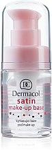 Voňavky, Parfémy, kozmetika Základ pod make-up matný s vyrovnávacím efektom - Dermacol Satin Base Make-Up