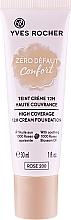 """Voňavky, Parfémy, kozmetika Make-up """"Pohodlie. Žiadne nedokonalosti"""" - Yves Rocher Zero Defaut Comfort 12h Cream Foundation"""