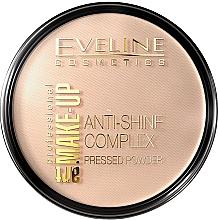 Voňavky, Parfémy, kozmetika Kompaktný púder - Eveline Cosmetics Anti-Shine Complex