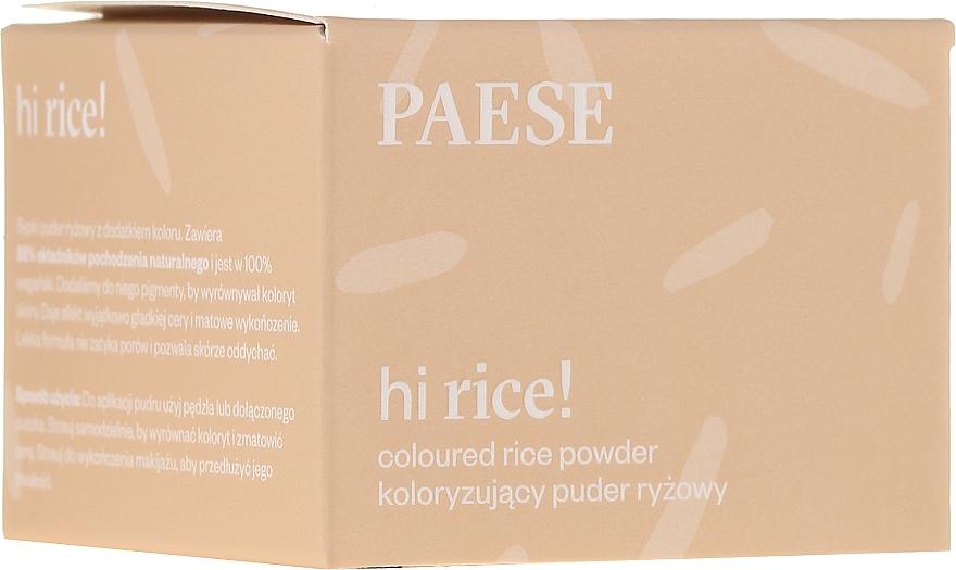 Tónovací ryžový púder - Paese Hi Rice Coloured Rice Powder — Obrázky N1