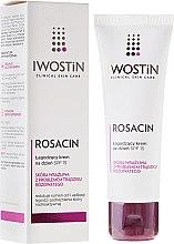 Voňavky, Parfémy, kozmetika Upokojujúci denný krém - Iwostin Rosacin Soothing Day Cream Against Redness SPF 15