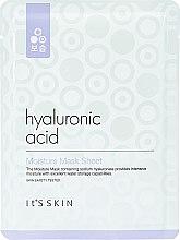 Voňavky, Parfémy, kozmetika Hydratačná textilná maska s kyselinou hyalurónovou - It's Skin Hyaluronic Acid Moisture Mask Sheet