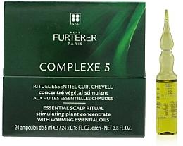 Voňavky, Parfémy, kozmetika Rvitalizačný komplex na pokožku hlavy - Rene Furterer Complexe 5 Essential Scalp Ritual Stimulating Plant Concentrate With Warming Esential Oils