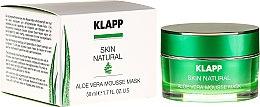 Voňavky, Parfémy, kozmetika Upokojúca maska s aloe vera - Klapp Skin Natural Aloe Vera Mousse Mask