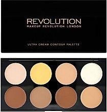 Voňavky, Parfémy, kozmetika Korektor na tvár - Makeup Revolution Ultra Cream Contour Palette