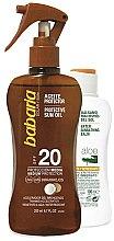 Voňavky, Parfémy, kozmetika Sada - Babaria Sun (b/oil/200ml + balm/100ml)