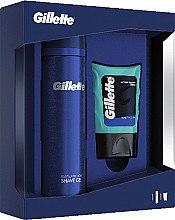 Voňavky, Parfémy, kozmetika Sada - Gillette (ash/bal/75ml + sh/gel/200ml)