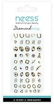 Voňavky, Parfémy, kozmetika Nálepky na nechtový dizajn, 3713 - Neess Diamondneess