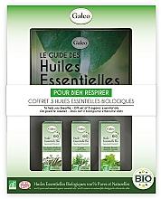 """Voňavky, Parfémy, kozmetika Sada éterických olejov """"Na uľahčenie dýchania"""" - Galeo To Help You Breath Gift Set (ess/oil/3x10ml)"""