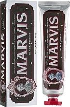 """Voňavky, Parfémy, kozmetika Zubná pasta """"Čierny les"""" - Marvis Black Forest"""