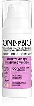 Voňavky, Parfémy, kozmetika Obnovujúci krém na tvár - Only Bio Bakuchiol & Squalane Regenerating Cream