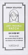 Voňavky, Parfémy, kozmetika Liečivé náplasti na boj proti akné - Missha Speedy Solution Anti Trouble