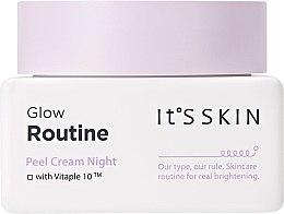 Voňavky, Parfémy, kozmetika Nočný krém na tvár - It's Skin Glow Routine Peel Cream Night