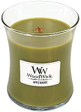 Voňavky, Parfémy, kozmetika Vonná sviečka v pohári - WoodWick Hourglass Candle Apple Basket