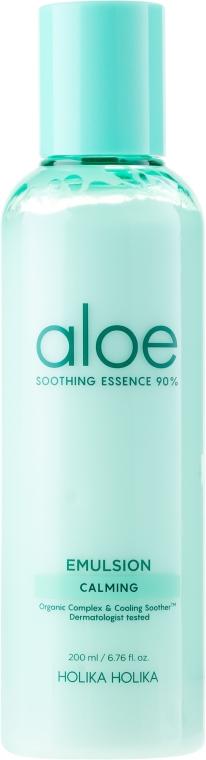 Hydratačná emulzia pre tvár - Holika Holika Aloe Soothing Essence 90% Emulsion Calming