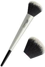 Voňavky, Parfémy, kozmetika Štetec na púder, strieborný - Art Look Powder Brush