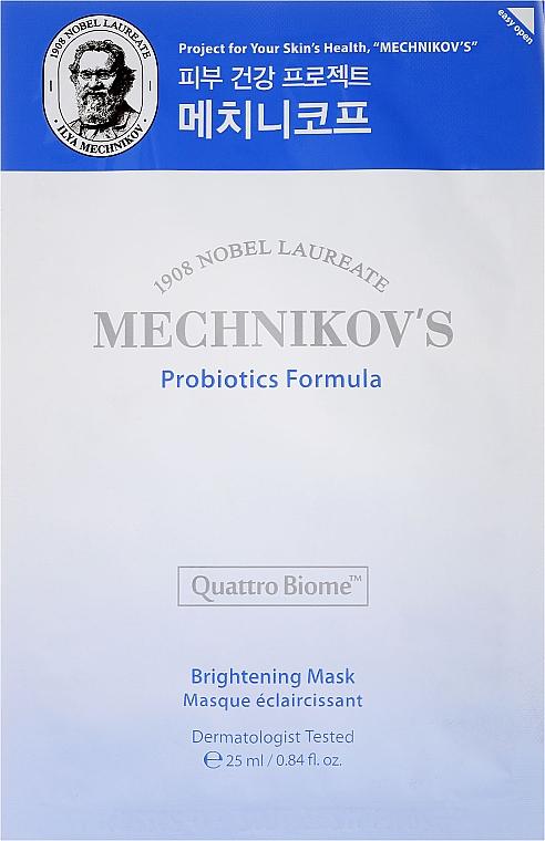 Maska na tvár - Holika Holika Mechnikov's Probiotics Formula Mask Sheet